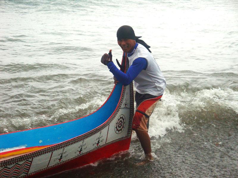 體驗拼板舟